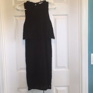 Black Bar III Lace, 60's Style Dress Size Small
